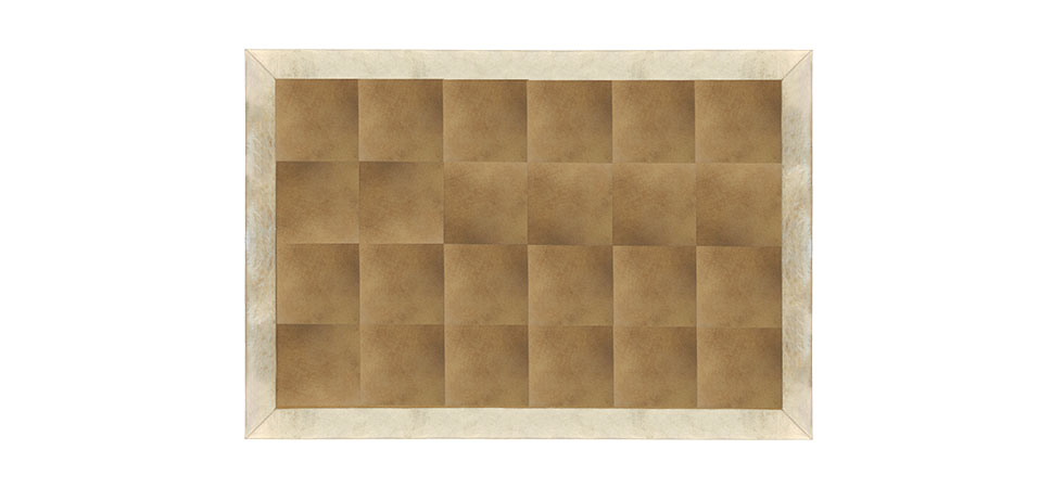 COWHIDE WITH METALLIC GOLD Rug Koket Love Happens