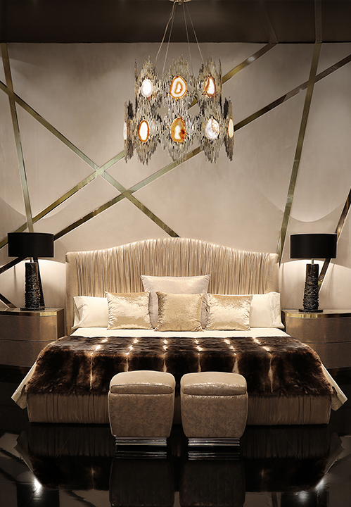@koket Projects with Eternity chandelier, Chandra chair and Exotica Desk http://www.bykoket.com/projects.php