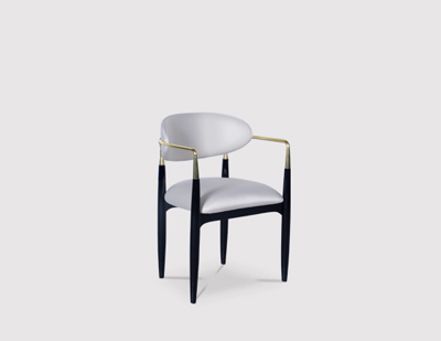 Nahéma Dining Chair by KOKET