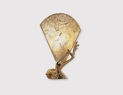 Muse Sconce by KOKET