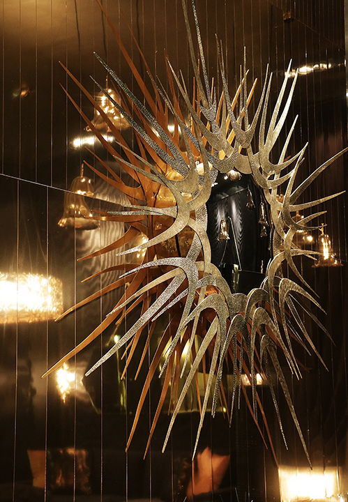 koket teases with metallics leathers u s luxury furniture brand koket ...