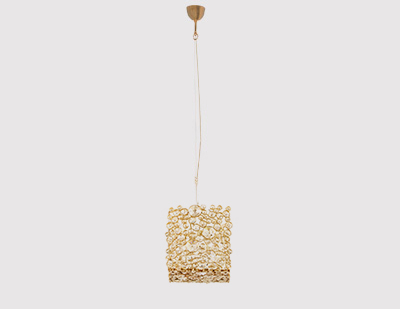 Eternity Square Chandelier by KOKET