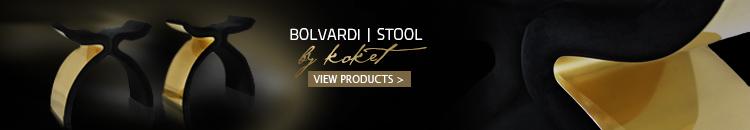 Bolvardi Stool by Koket