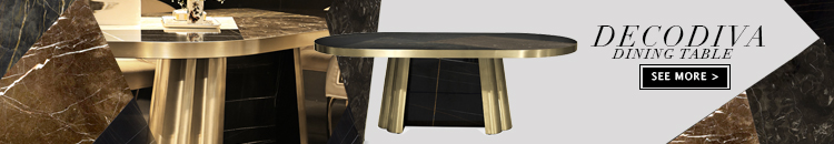 decodiva marble and brass dining table by koket