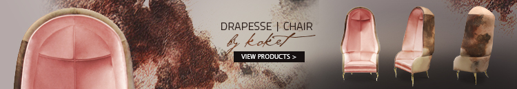bonnet chair - drapesse chair by koket