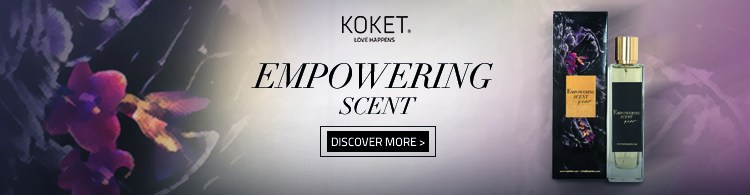 empowering scent perfume by koket