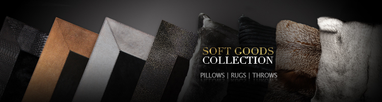 koket textiles - koket soft goods collection - layering rugs - cowhide rugs - hide rugs - fur rugs - fur pillows - fur throws
