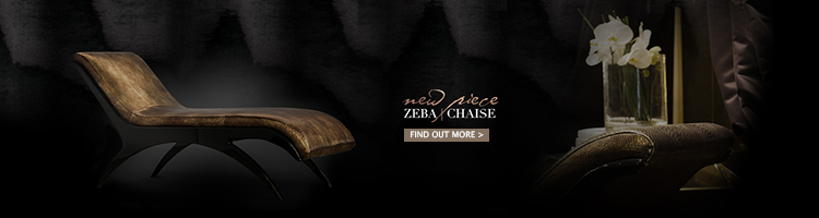 zeba chaise by koket - luxury furniture - glamorous chaises - high end furniture - luxury upholstery - high end upholstery - leather chaises - the perfect chaise