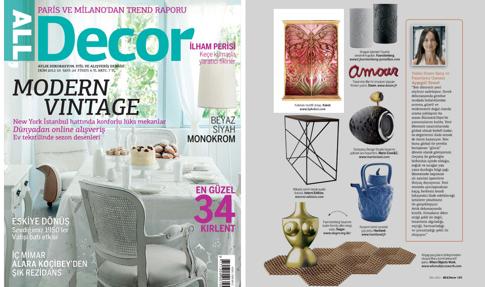 All Decor 2012 cover by Koket