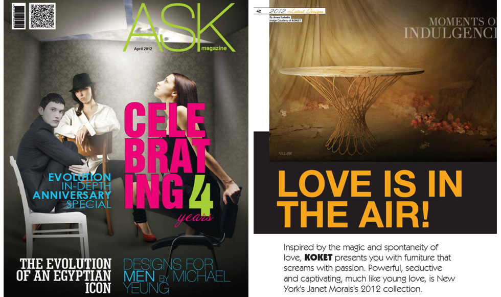 ASK Magazine 2012 cover by Koket