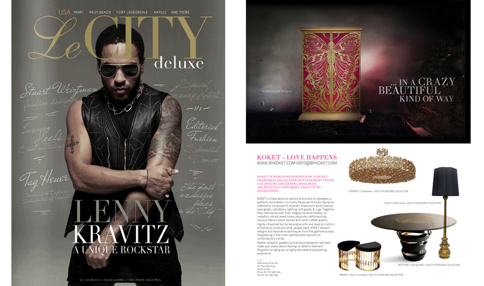 Le CITY deluxe 2012 cover by Koket