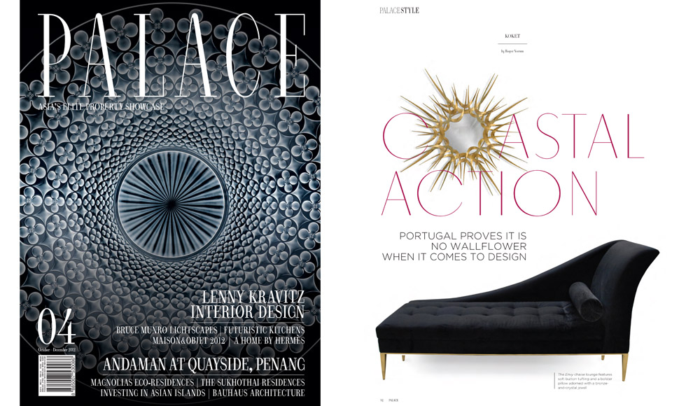 PALACE Magazine 2012 cover by Koket