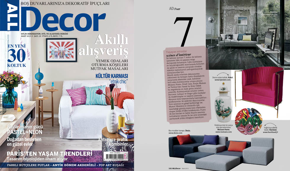 ALL DECOR 2013 cover by Koket