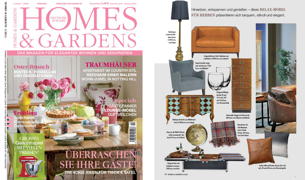 HOME & GARDENS 2013 cover by Koket