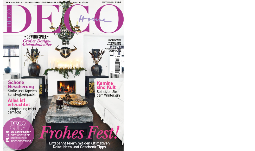 Deco Home  December 2013 cover by Koket