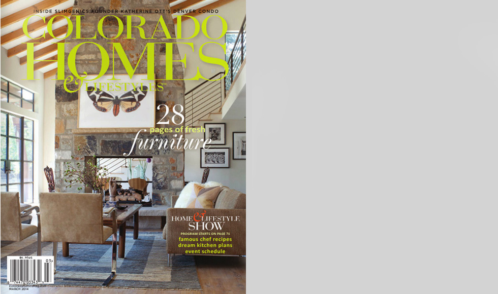 COLORADO HOMES & LIFESTYLES 2014 cover by Koket