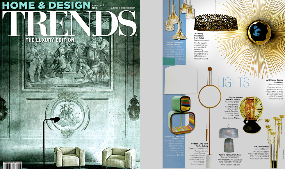 Home and Design Trends 2014 cover by Koket
