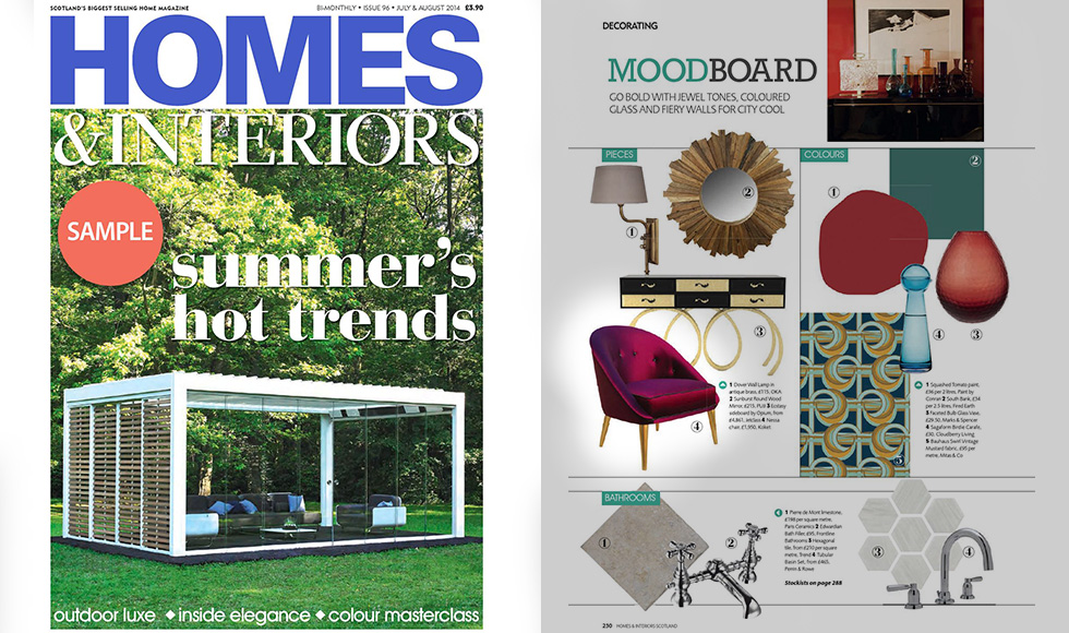 Homes and Interiors 2014 cover by Koket