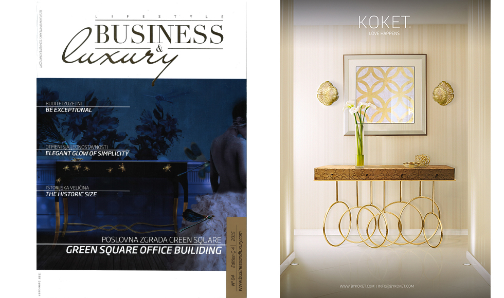 Business and Luxury November 2015 cover by Koket