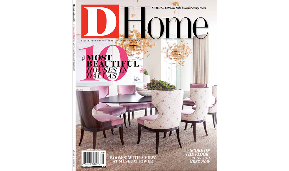 D Home August 2015 cover by Koket