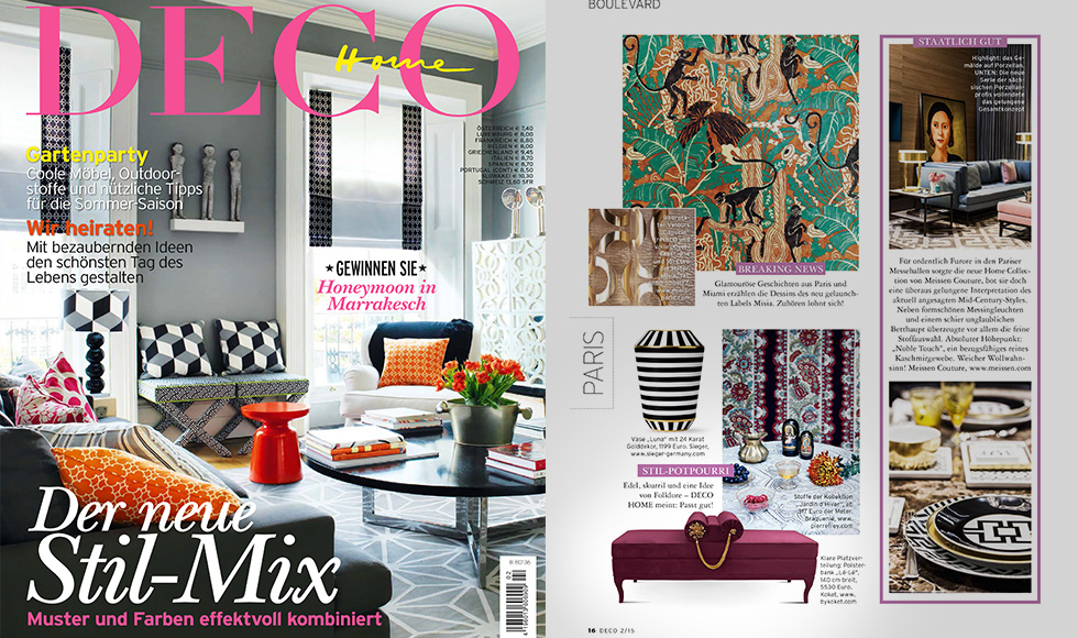 Deco Home March 2015 cover by Koket