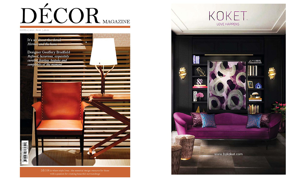 Decor Magazine March 2015 cover by Koket