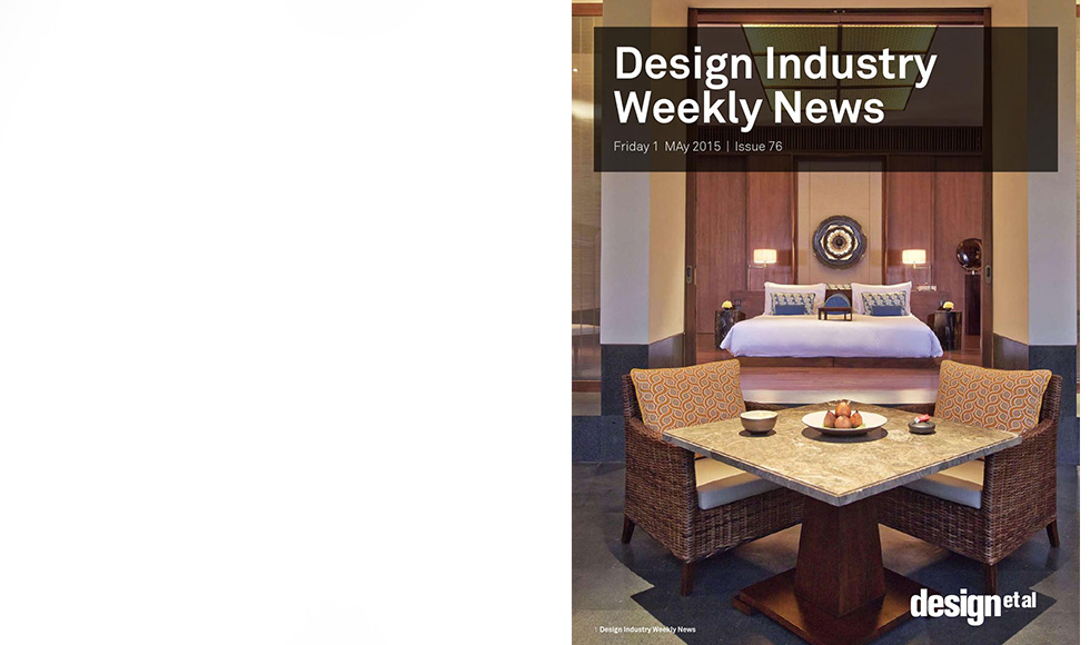 Design Industry Weekly News May 2015 cover by Koket
