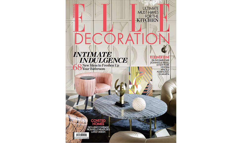 Elle Decoration September 2015 cover by Koket