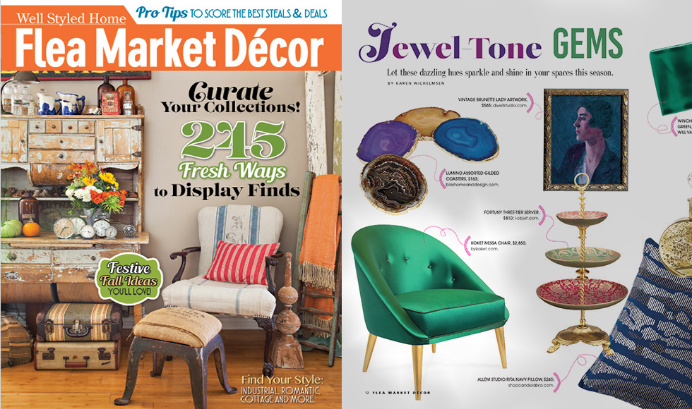 Flea Market Decor August 12 USA Nessa Chair Article PRESS by Koket