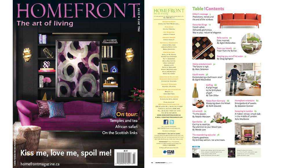 Homefront October 2015 cover by Koket