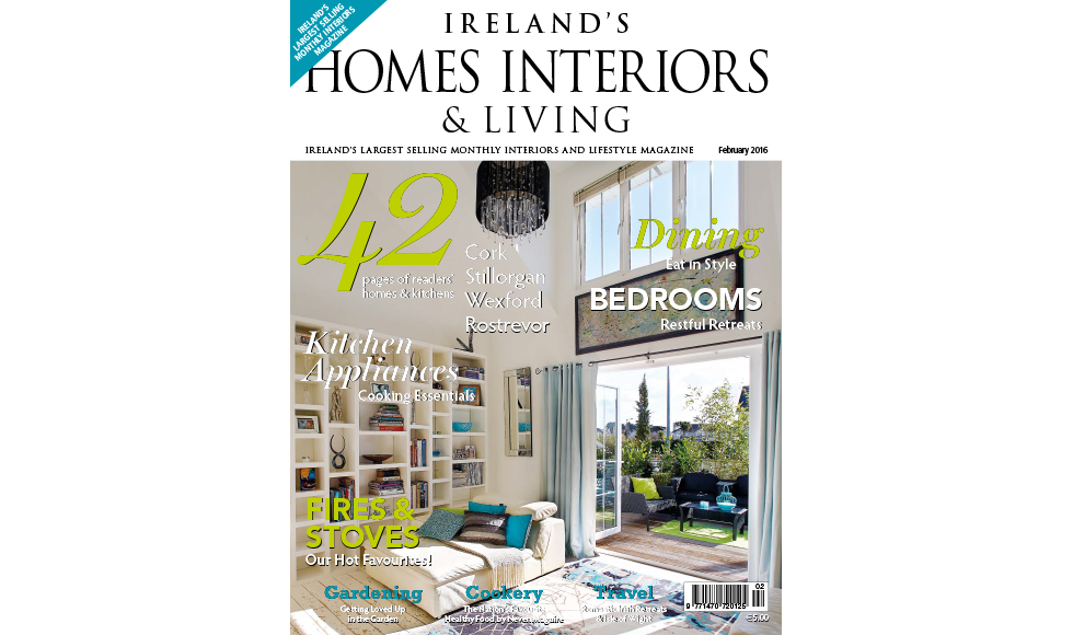 Irelands Homes Interiors and Living December 2015 cover by Koket