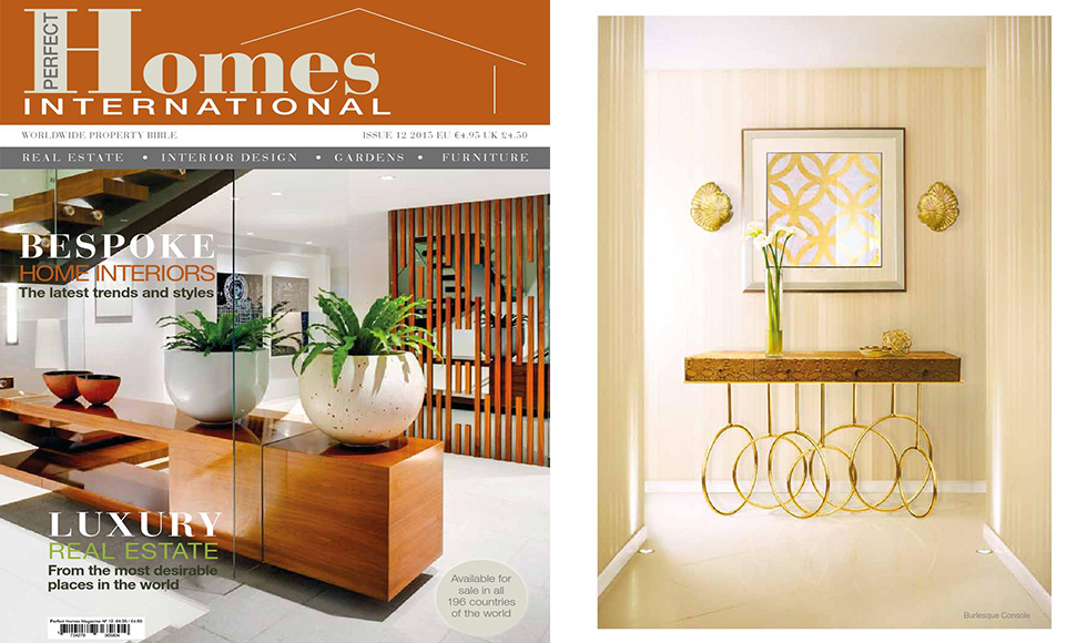 Perfect Homes March 2015 cover by Koket