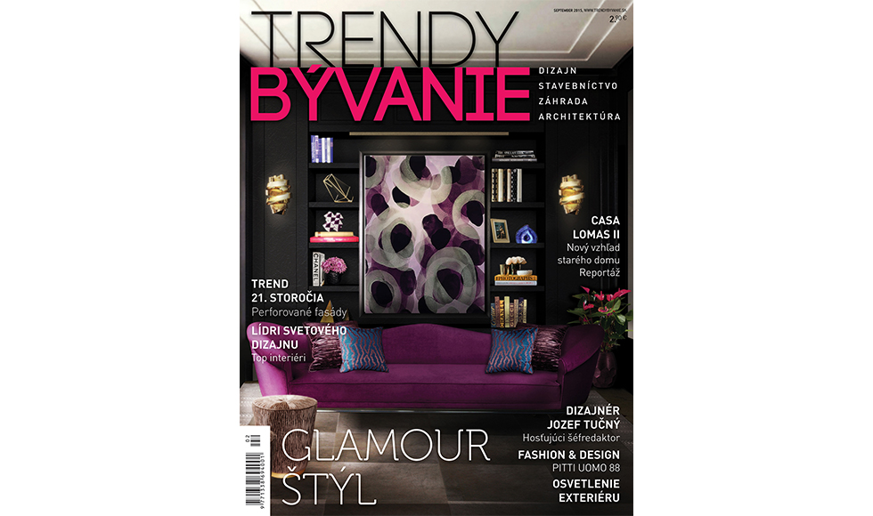 Trendy Byvanie September 2015 cover by Koket