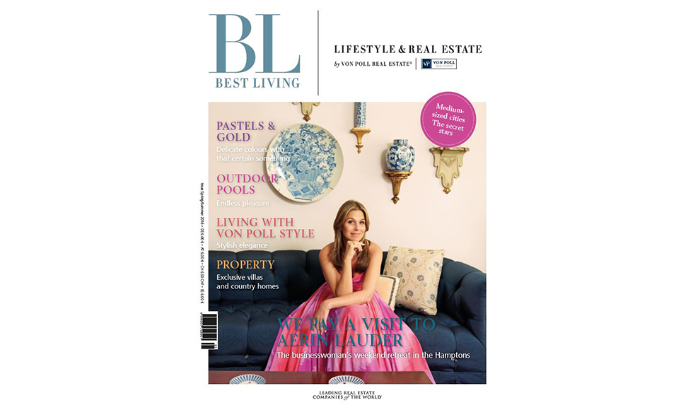 Best Living May 2016 cover by Koket