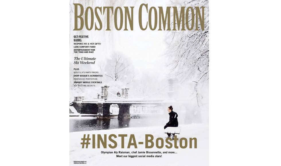 Boston Commom  November 2016 cover by Koket