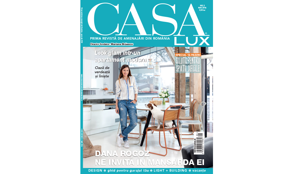 Casa Lux April 2016 cover by Koket