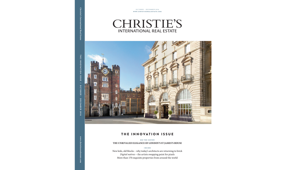 Christie's International Real Estate June 2016 cover by Koket
