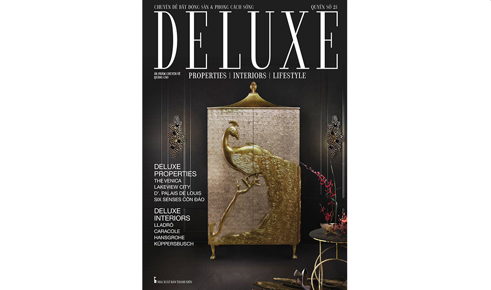 Deluxe September 2016 cover by Koket