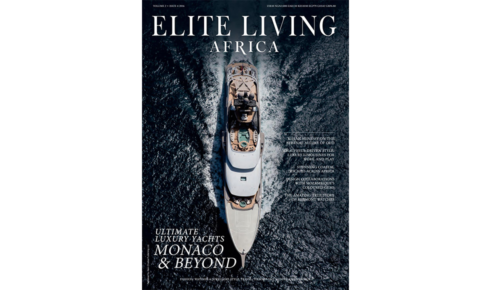 Elite Living Africa August 2016 cover by Koket