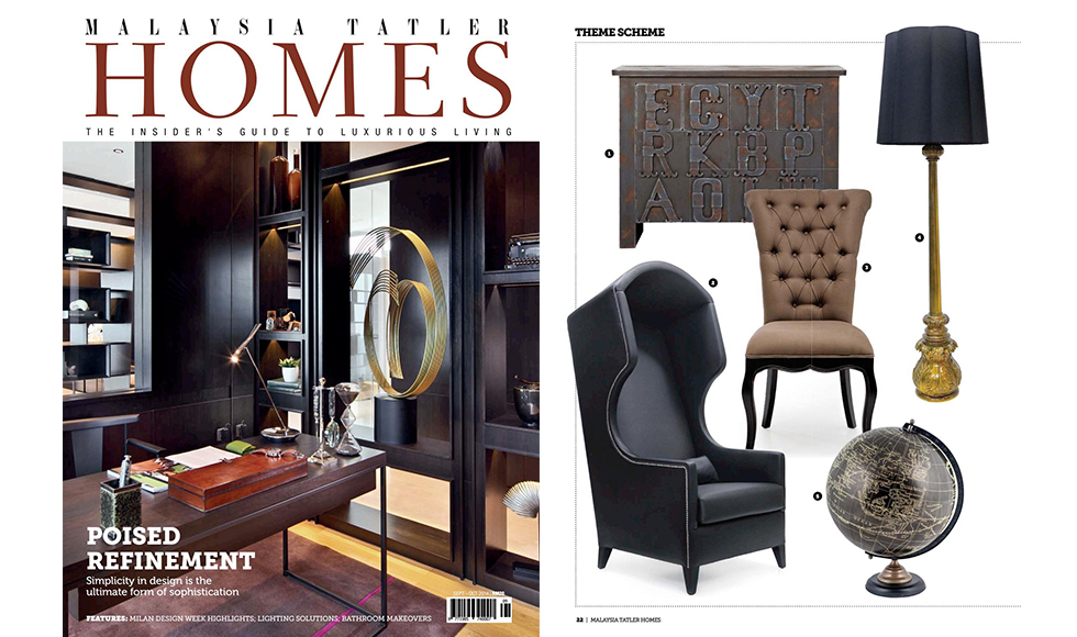 Malaysia Tatler Homes June 2016 cover by Koket
