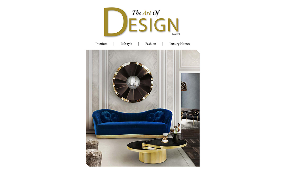 The Art Of Design May 2016 cover by Koket