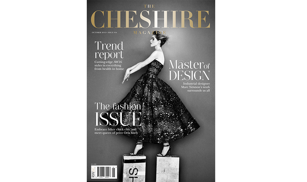 The Cheshire Magazine October 2016 cover by Koket