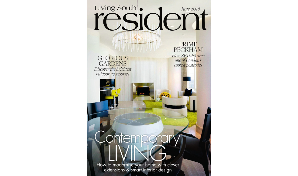 The Resident June 2016 cover by Koket
