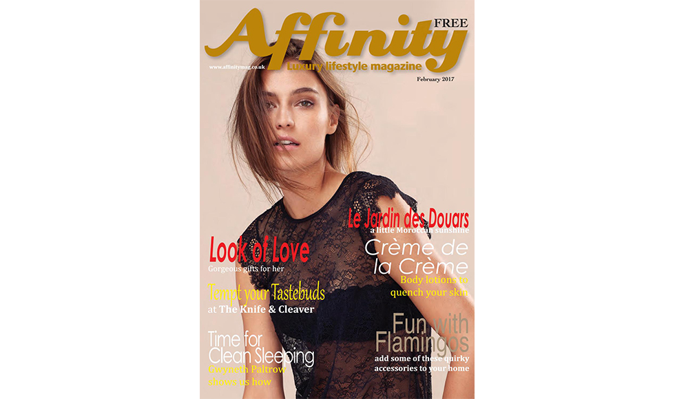 Affinity February 2017 cover by Koket