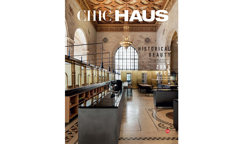 Chic Haus  February 2017 cover by Koket