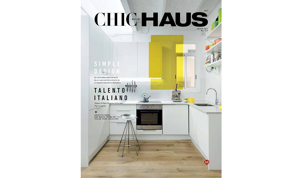 Chic Haus  January 2017 cover by Koket