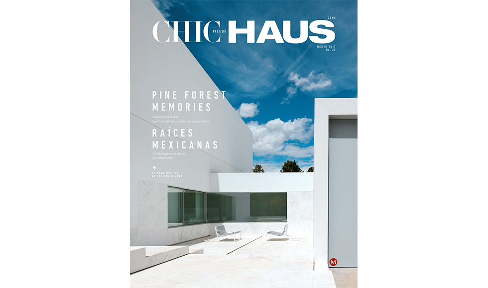 Chic Haus  March 2017 cover by Koket