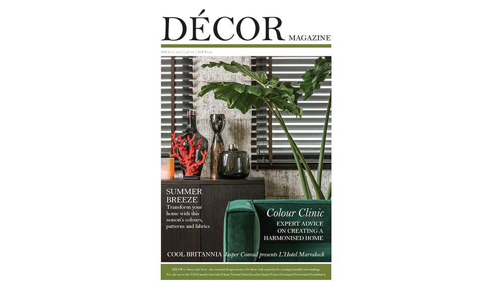Décor Magazine  May 2017 cover by Koket