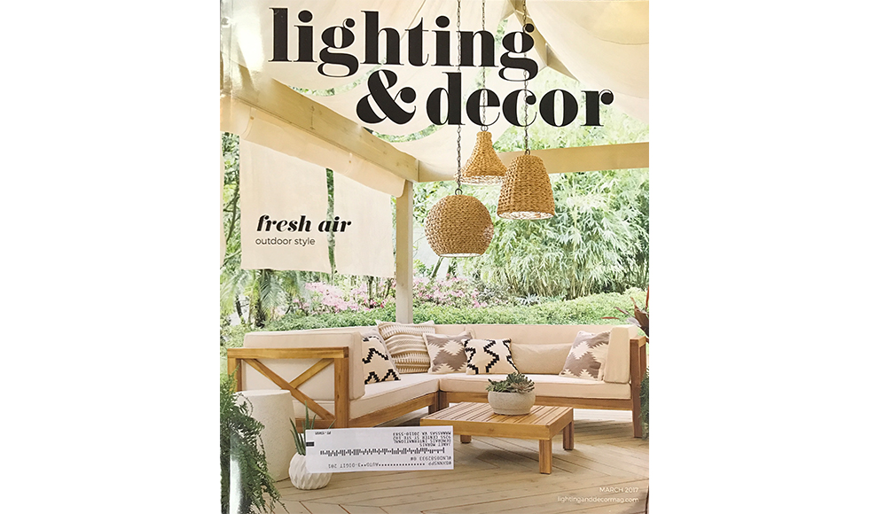 Lighting & Decor March 2017 cover by Koket