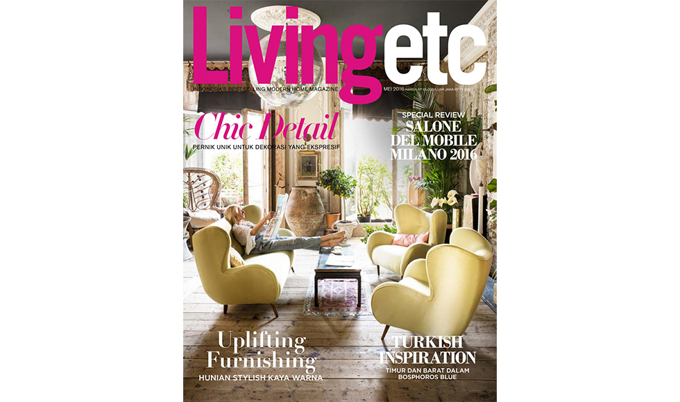 Living Etc  May 2017 cover by Koket